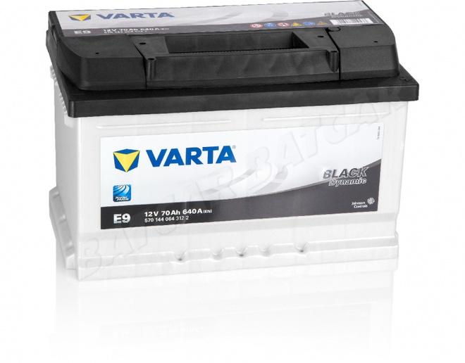 Аккумулятор автомобильный 70 VARTA  BLACK DYNAMIK