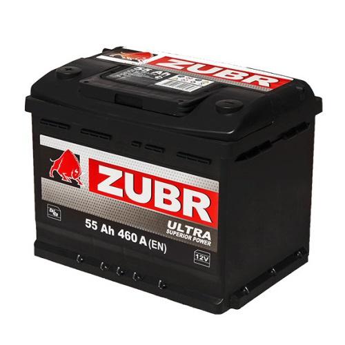 Аккумулятор автомобильный 55 ŻUBR ULTRA
