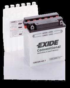 Аккумулятор для мотоциклов Exide Conventional 12 Ah