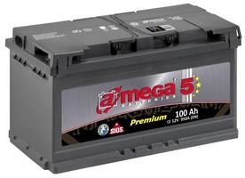 Аккумулятор автомобильный A-mega Premium 100 R