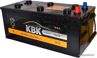 Грузовой аккумулятор KBK 190 L +/-