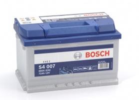 Аккумулятор автомобильный Bosch S4 Silver 72 R
