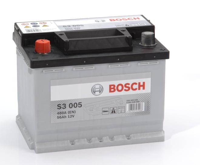 Аккумулятор автомобильный Bosch S3 56 L