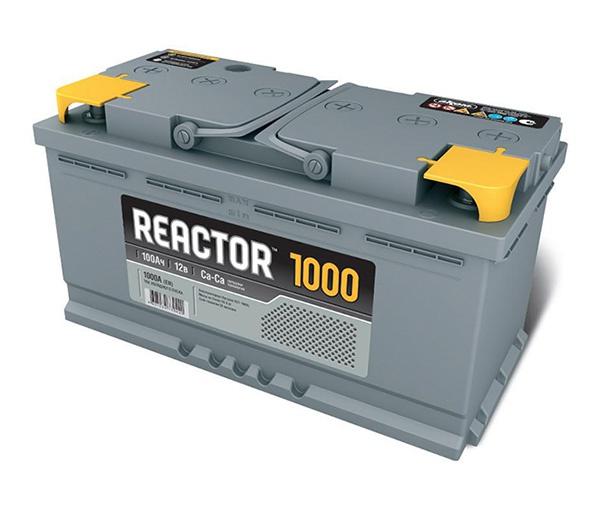 Аккумулятор автомобильный АКОМ 6СТ-100 Реактор Евро