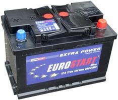 Аккумулятор автомобильный 77 Eurostart Blue