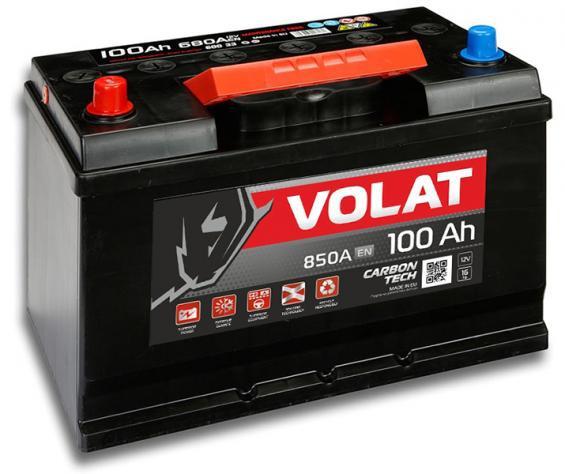 Аккумулятор автомобильный 100 Аh VOLAT  JAPAN L