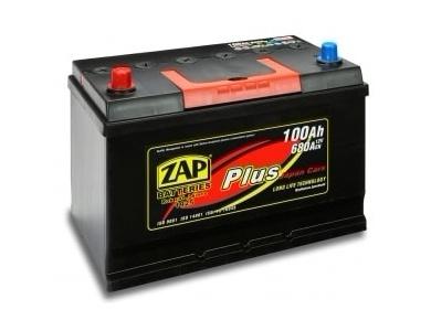 Аккумулятор автомобильный 100 Ah ZAP PLUS JAPAN