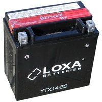 Аккумулятор для мотоциклов LOXA YTX 14-BS 12Ah