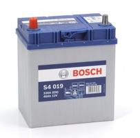 Аккумулятор автомобильный Bosch S4 Asia Silver 40 JL