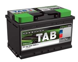 Аккумулятор автомобильный Tab EcoDry Stop&Go AGM 95 R
