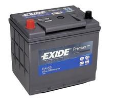 Аккумулятор автомобильный Exide Premium 65 JL