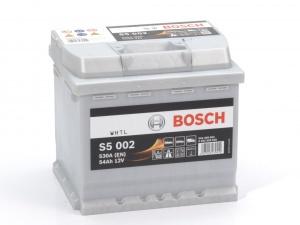 Аккумулятор автомобильный Bosch S5 Sillver Plus 54 R