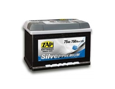 Аккумулятор автомобильный 75 Ah 575 45 ZAP SILVER PREMIUM R+ /о.п./