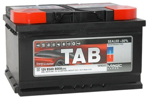 Аккумулятор автомобильный Tab Magic 85 R низк