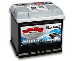 Аккумулятор автомобильный Sznajder Silver Premium [magic eye] 55 R