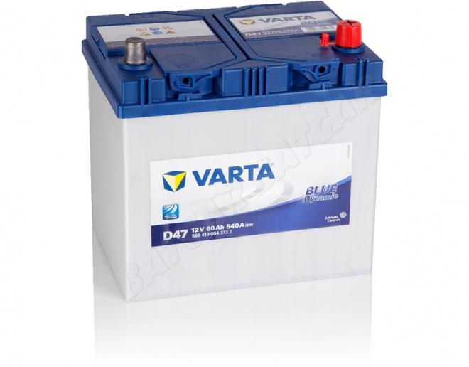 Аккумулятор автомобильный 60 VARTA BLUE DYNAMIK  JAPAN