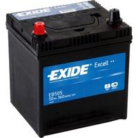 Аккумулятор автомобильный Exide Excell 50 JL