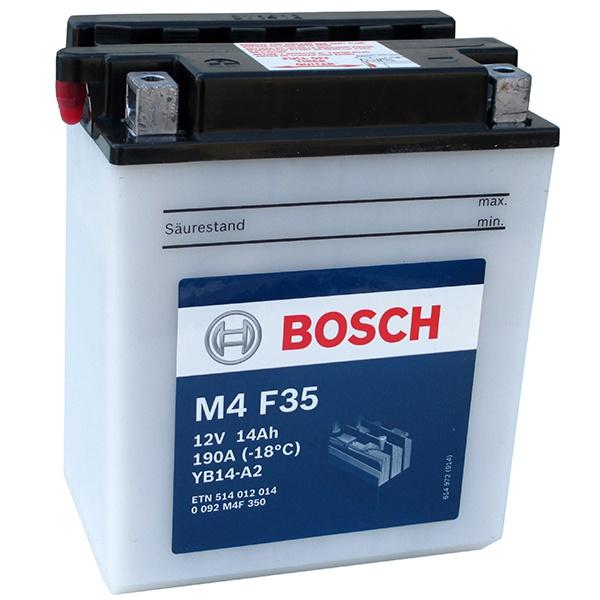 Аккумулятор для мотоциклов Bosch YB14-A2 14Ah