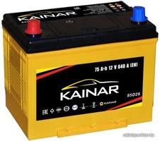 Аккумулятор автомобильный Kainar Asia 75 JL+