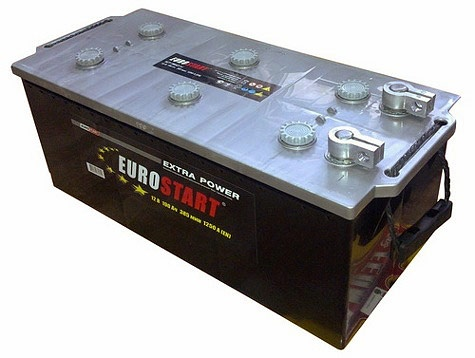 Грузовой аккумулятор 200 EUROSTART болт