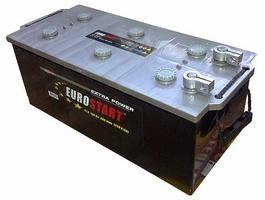 Грузовой аккумулятор 225 EUROSTART болт R
