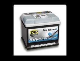 Аккумулятор автомобильный 54 Ah 554 45 ZAP SILVER PREMIUM /о.п./