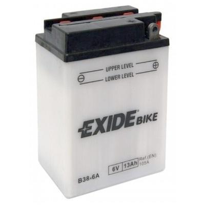 Аккумулятор для мотоциклов Exide  B38-6A