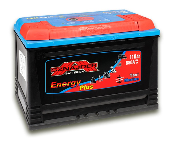 Лодочный аккумулятор Sznajder Energy 110 R