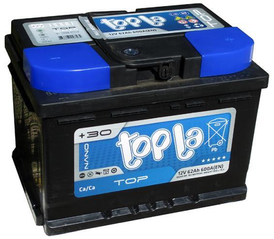 Аккумулятор автомобильный 62 TOPLA TOP