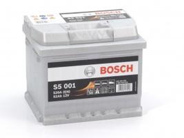 Аккумулятор автомобильный Bosch S5 Sillver Plus 52 R
