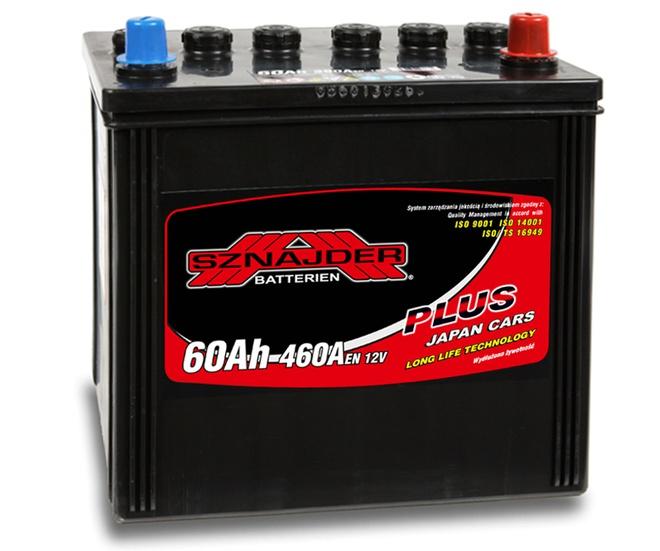 Аккумулятор автомобильный Sznajder Plus Japan Cars 60 JR