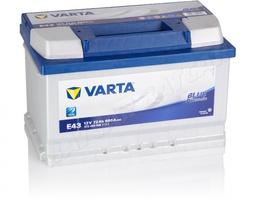 Аккумулятор автомобильный 72 VARTA BLUE DYNAMIK