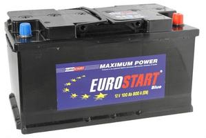 Аккумулятор автомобильный 90 Eurostart Blue