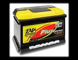 Аккумулятор автомобильный 62 Ah  ZAP PLUS