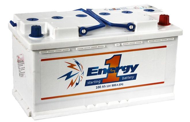 Аккумулятор автомобильный Energy one 100 L+