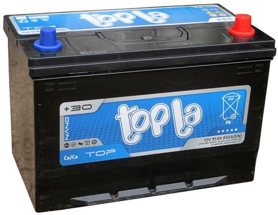 Аккумулятор автомобильный 95 TOPLA TOP Asia R+