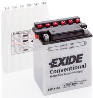 Аккумулятор для мотоциклов Exide YB14L-B2 14Ah