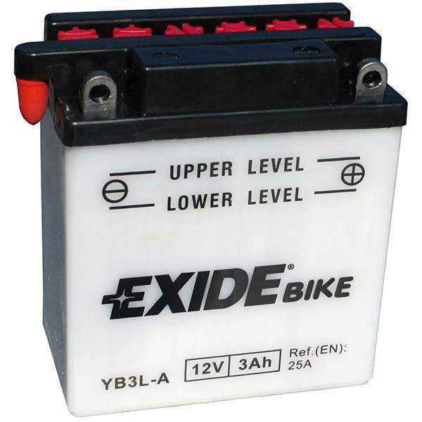 Аккумулятор для мотоциклов Exide Bike Conventional 3 Ah