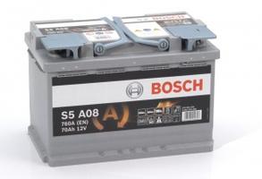 Аккумулятор автомобильный Bosch S5 70 R AGM