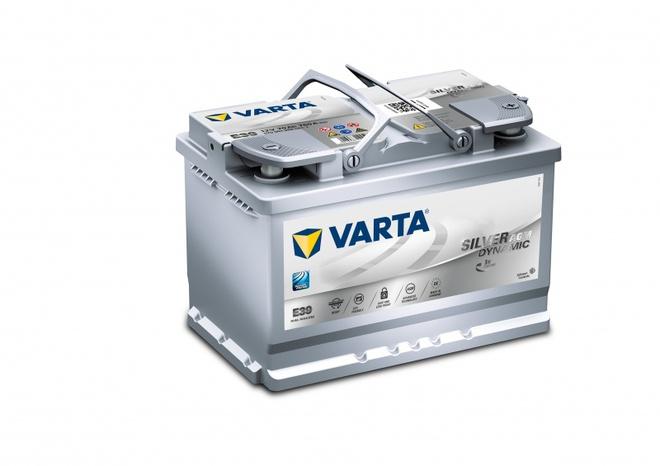 Аккумулятор автомобильный 70 VARTA SILVER DYNAMIK AGM