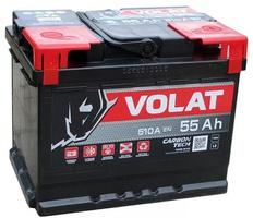Аккумулятор автомобильный 55 Аh VOLAT