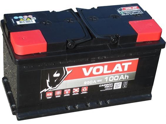 Аккумулятор автомобильный 110 Аh VOLAT