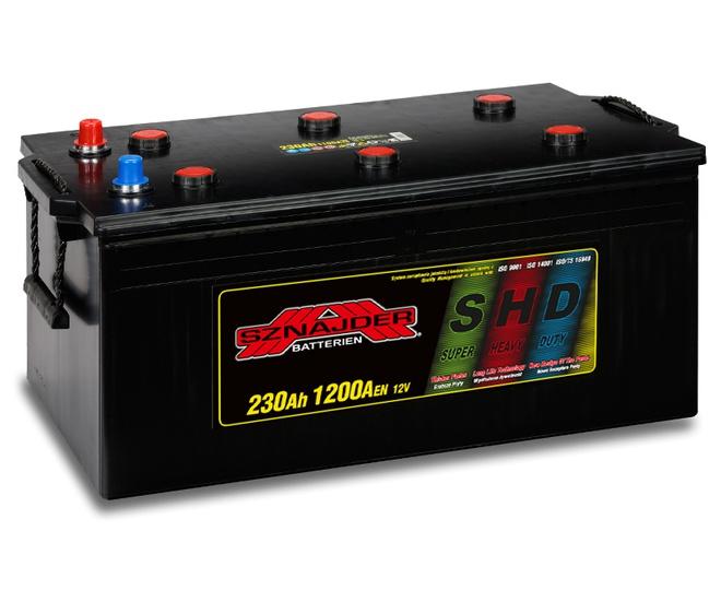 Грузовой аккумулятор Sznajder SHD 230