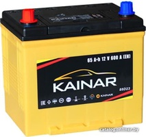 Аккумулятор автомобильный Kainar Asia 65 JL+