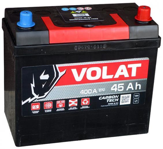 Аккумулятор автомобильный 45 Аh VOLAT JAPAN