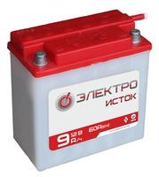 Аккумулятор для мотоциклов 6МТC-9 низ 9Ah