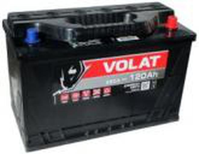 Грузовой аккумулятор 120 Ah VOLAT L