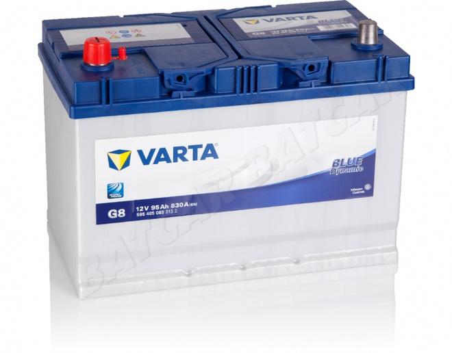 Аккумулятор автомобильный 95 VARTA BLUE DYNAMIK  JAPAN L