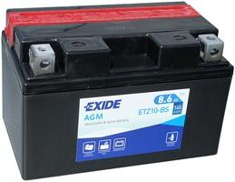 Аккумулятор для мотоциклов Exide 8.6 Ah YTZ 10S-BS 145 A