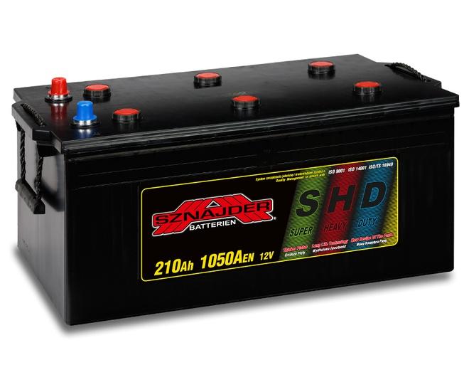 Грузовой аккумулятор Sznajder SHD 210